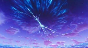 Imagen de Aparece en Fortnite una misteriosa grieta en el cielo que apunta al final de la Temporada 3