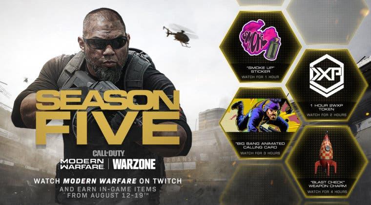 Imagen de Consigue recompensas en Modern Warfare y Warzone mirando Twitch esta semana