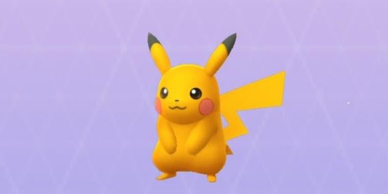 Pikachu shiny Pokémon Espada y Escudo