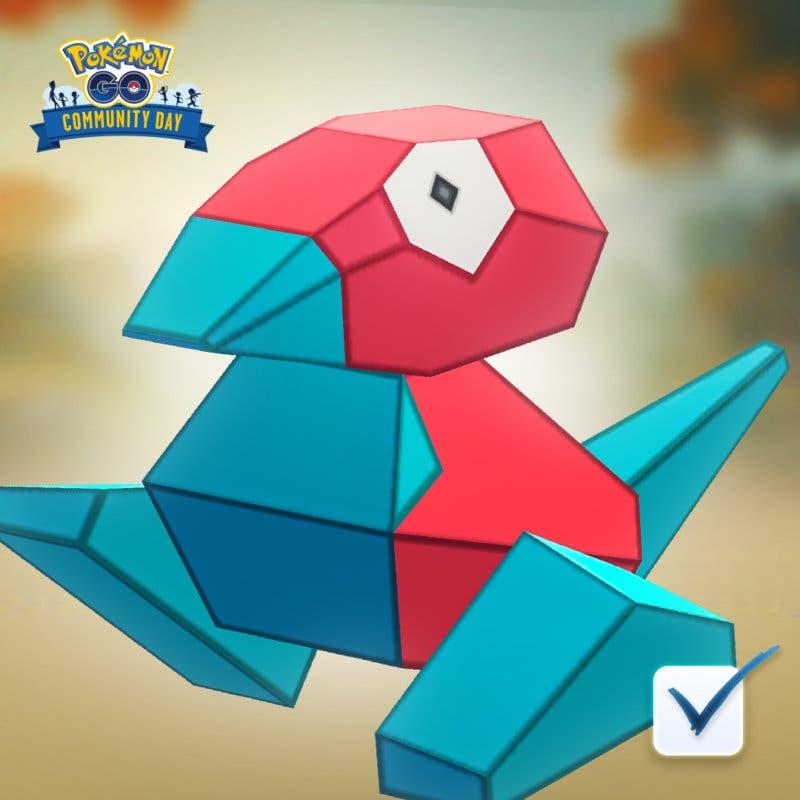 Pokémon GO Día de la Comunidad Porygon