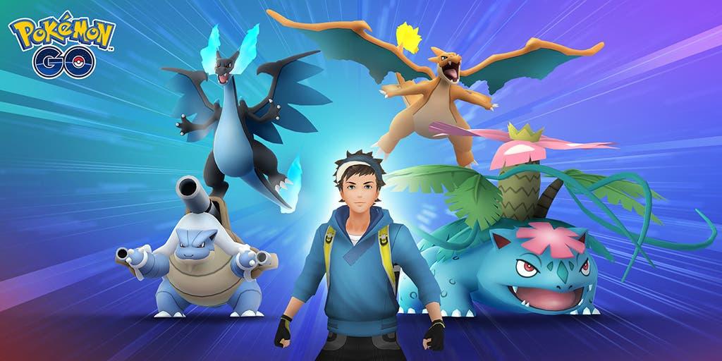 Pokémon GO Megaevolución Venusaur Charizard Blastoise