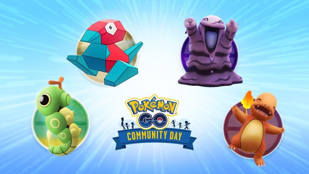 Pokémon GO encuesta Día de la Comunidad septiembre octubre