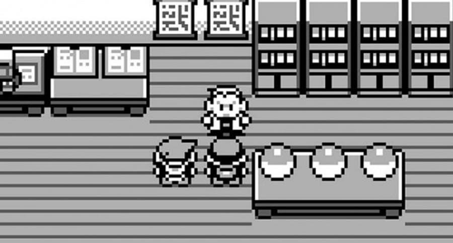 Pokémon Rojo y Azul laboratorio Profesor Oak
