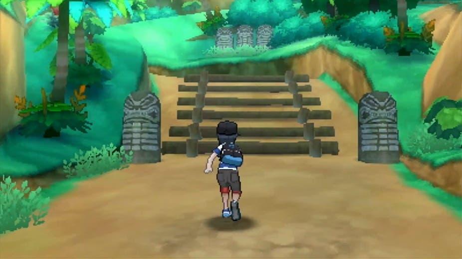 Pokémon Sol y Luna in game