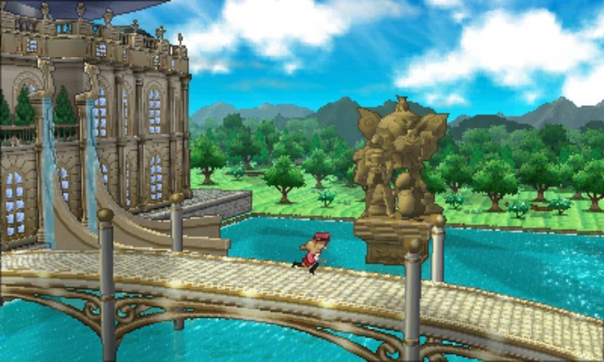 Pokémon X Y in game