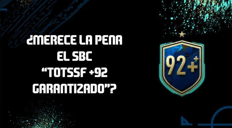 "Imagen de FIFA 20: ¿Merece la pena el SBC ""TOTSSF +92 garantizado""? (29/08/2020)"