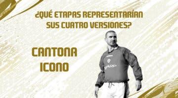 Imagen de FIFA 21: predicción de las etapas y momentos de Cantona Icono
