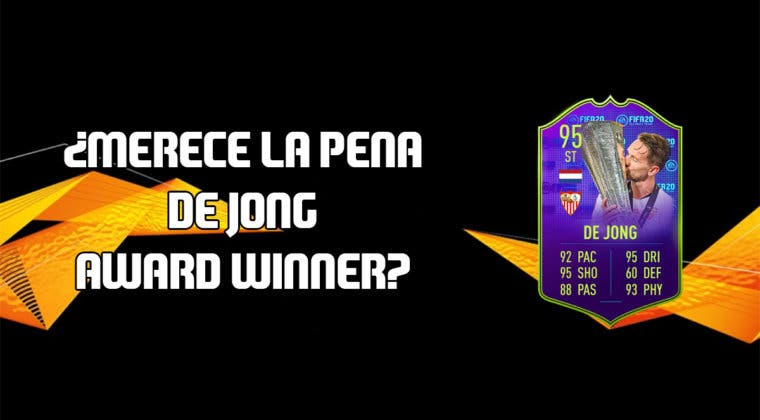 Imagen de FIFA 20: ¿Merece la pena Luuk De Jong Award Winner? + Solución de su SBC