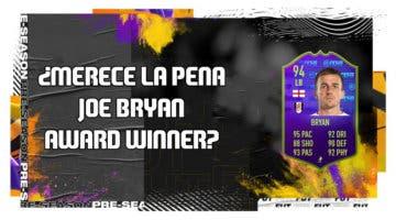 Imagen de FIFA 20: ¿Merece la pena Joe Bryan Award Winner? + Solución de su SBC
