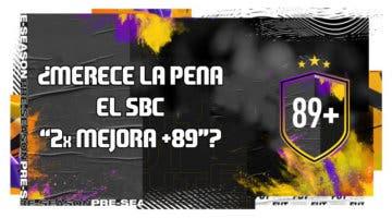 """Imagen de FIFA 20: ¿Merece la pena el SBC """"Doble mejora +89""""?"""