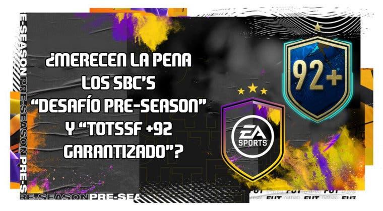 """Imagen de FIFA 20: ¿Merecen la pena los SBC's """"Desafío Pre-Season"""" y """"TOTSSF +92 garantizado""""?"""