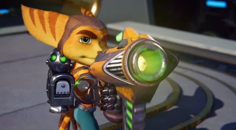 Imagen de Las armas en Ratchet & Clank: Una Dimensión Aparte se sentirán únicas gracias al DualSense