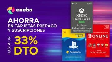 Imagen de Tarjetas regalo y suscripciones para PlayStation, Xbox, Switch o Fortnite más baratas en Eneba