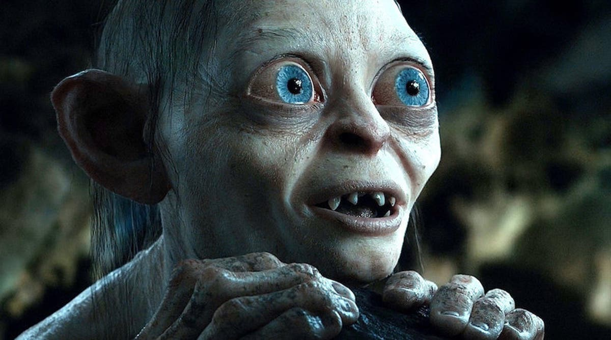 The Lords of the Rings Gollum