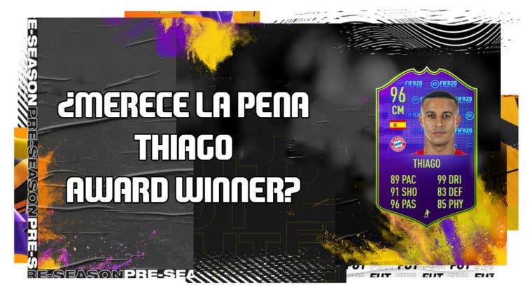 Imagen de FIFA 20: ¿Merece la pena Thiago Alcántara Award Winner? + Solución de su SBC