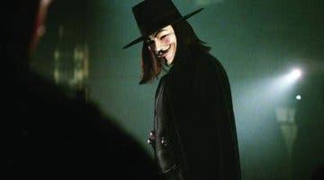 Imagen de Así es la edición especial de V de Vendetta en Blu-Ray y 4k