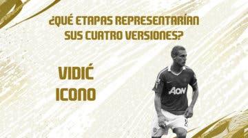 Imagen de FIFA 21: predicción de las etapas y momentos de Vidić Icono