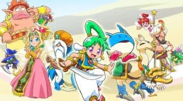 Imagen de Wonder Boy: Asha in Monster World ya cuenta con fecha de lanzamiento en PS4 y Switch