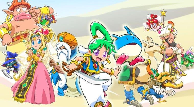 Imagen de Wonder Boy: Asha in Monster World será un remake de Monster World IV