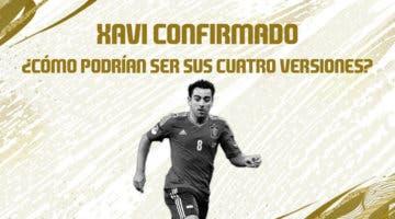 Imagen de Xavi Hernández confirmado como Icono para FIFA 21 + ¿Qué etapas representarían sus cuatro versiones?