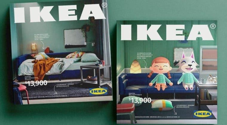 Imagen de IKEA Taiwan utiliza Animal Crossing para recrear su catálogo de 2021