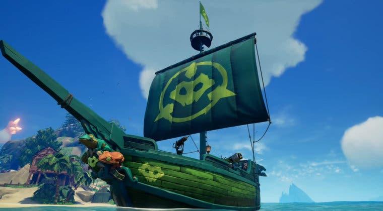 Imagen de Sea of Thieves celebra el lanzamiento de Battletoads regalando una increíble skin