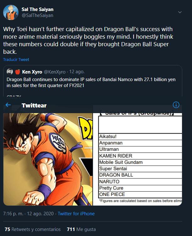 db super anime