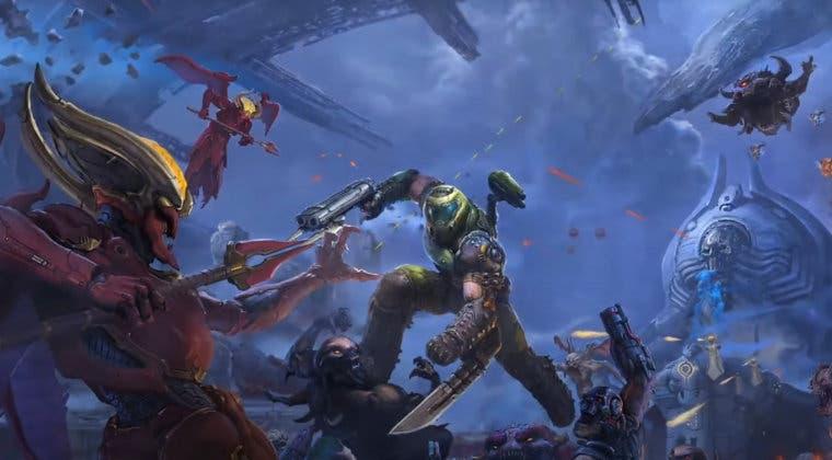 Imagen de DOOM Eternal: The Ancient Gods Parte 1 presenta novedades, fecha y un primer tráiler