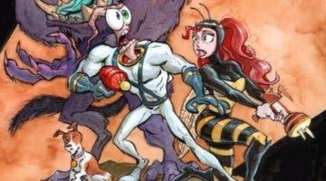 Imagen de Earthworm Jim 4 se muestra en acción por primera vez y enfada a muchos fans