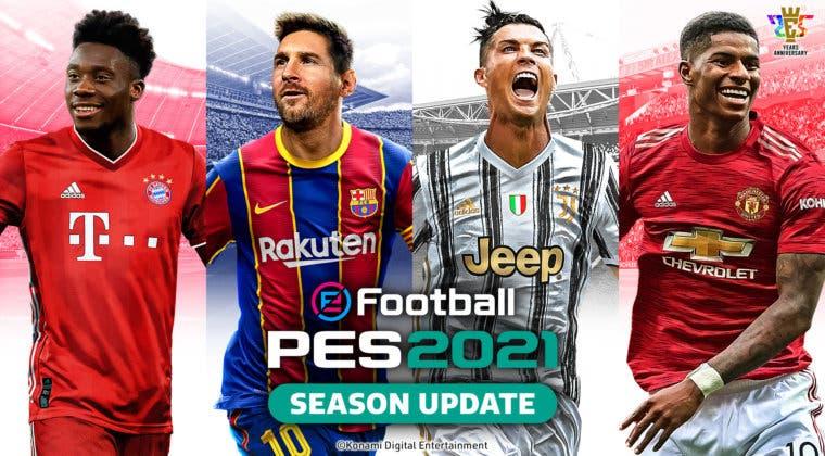 Imagen de Así es la portada de eFootball PES 2021 con Messi, Ronaldo y más