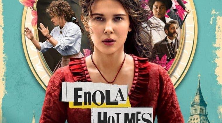 Imagen de El curioso error histórico en el póster de Enola Holmes, la nueva película de Netflix