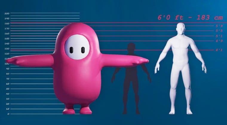 Imagen de Un esqueleto 'macabro'; Fall Guys revela el interior de sus personajes