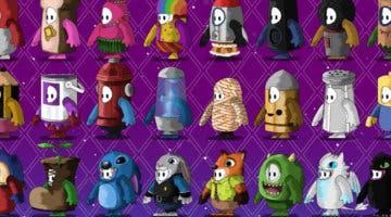 Imagen de Un artista crea disfraces de Fall Guys inspirados en Final Fantasy, Disney, Persona 4, Hora de Aventuras y más