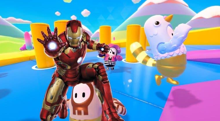 Imagen de Imaginan la skin de Iron-Man en Fall Guys