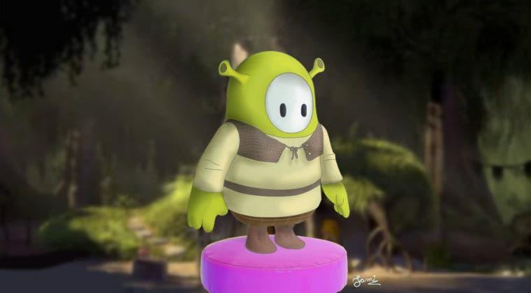 Imagen de Así luciría Shrek en Fall Guys