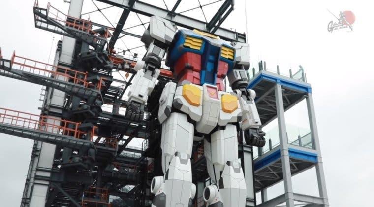 Imagen de Es real: crean un Gundam de 18 metros de altura con capacidad para moverse