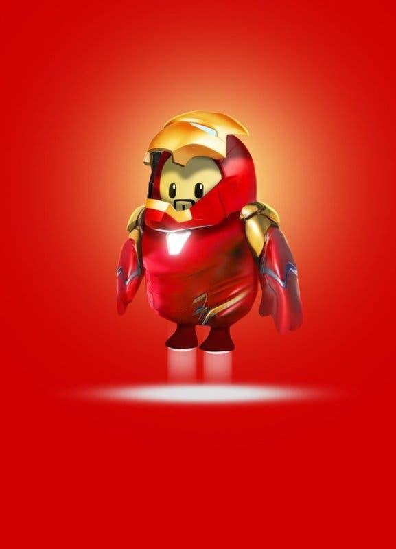 Iron-Man en Fall Guys; así sería la skin del héroe de Marvel