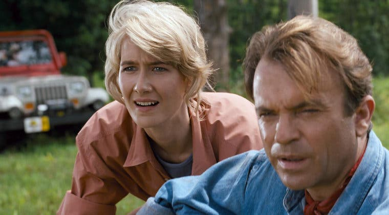 Imagen de Jurassic World Dominion: Laura Dern celebra su llegada al set con esta nostálgica foto