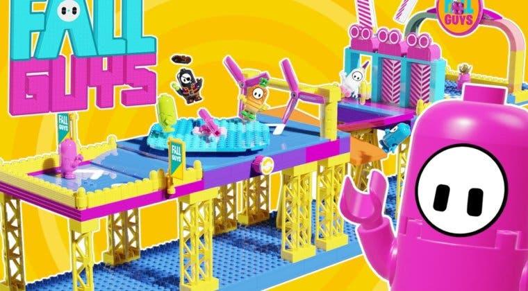 Imagen de Así sería Fall Guys en versión LEGO