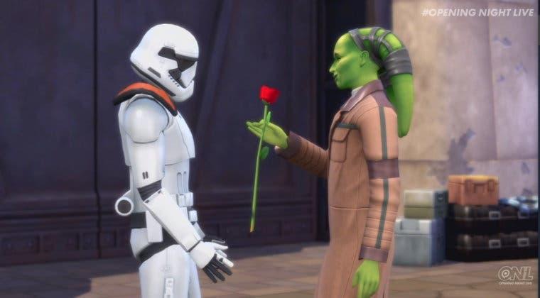 Imagen de Los Sims 4 presenta Viaje a Batuu, su expansión de Star Wars