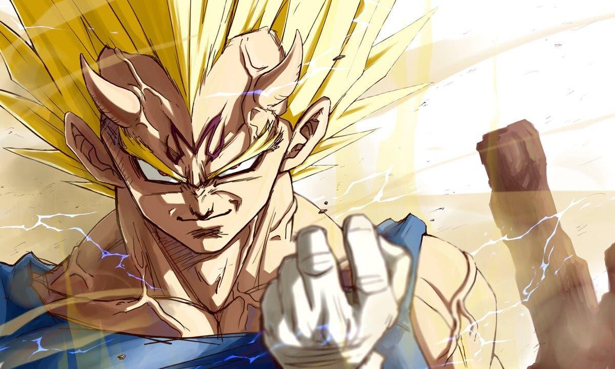 El Majin Vegeta más diabólico: así es el arte de un fan de Dragon Ball Z