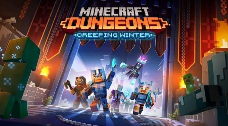 Imagen de Minecraft Dungeons fecha su próxima expansión, Invierno Espeluznante, y una edición física