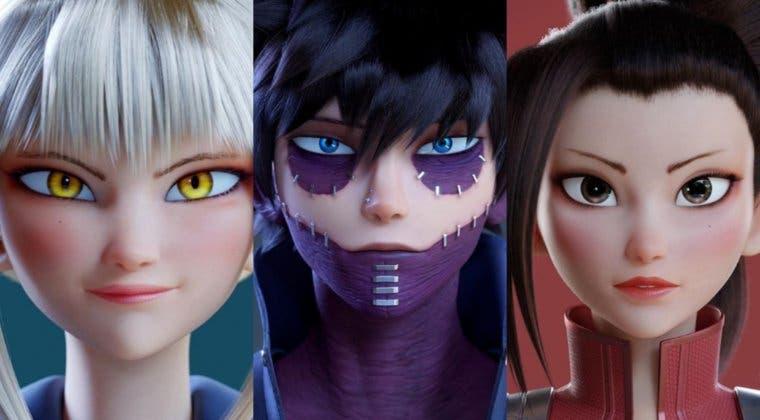 Imagen de ¿My Hero Academia en 3D? Así son los increíbles diseños de un artista