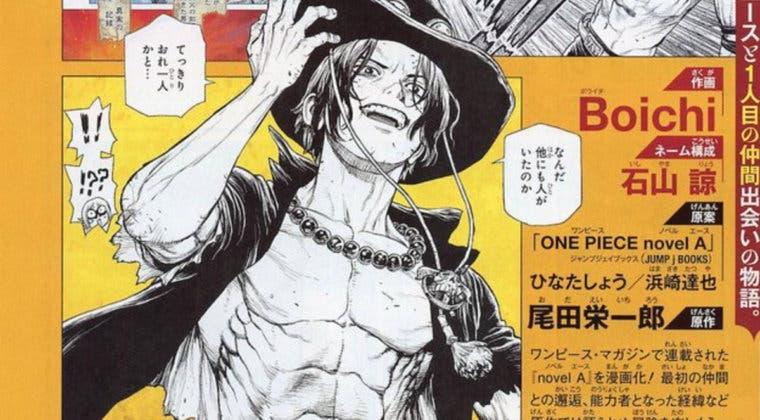 Imagen de Así es el manga de Ace (One Piece) por el autor de Dr. Stone