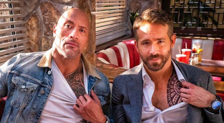 Imagen de Black Adam: Dwayne Johnson exige que Ryan Reynolds haga de Hawkman