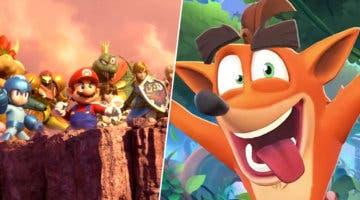 Imagen de Super Smash Bros. Ultimate: surge teoría sobre Crash Bandicoot como nuevo luchador