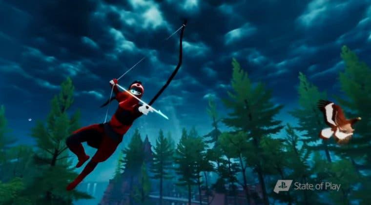 Imagen de The Pathless se muestra en un primer gameplay para PS5