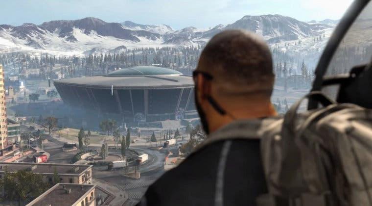 Imagen de Call of Duty: Warzone - descubiertas nuevas tarjetas y códigos para las puertas cerradas del estadio