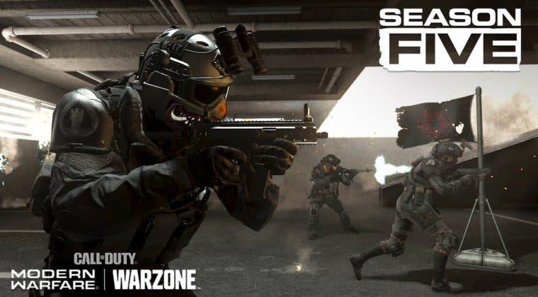 Imagen de Fecha y hora para el comienzo de la temporada 5 de Call of Duty: Warzone y Modern Warfare
