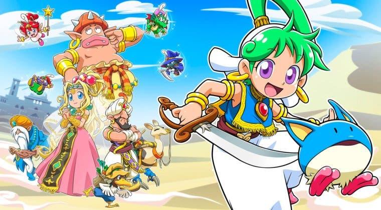Imagen de Wonder boy: Asha in Monster Wold aparece en un nuevo tráiler